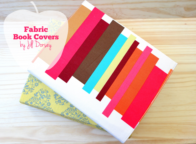 Fabric Book Cover How To ~ Back to school — fabric book covers pellon projects