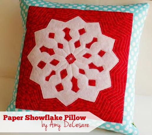 snowflakepillow