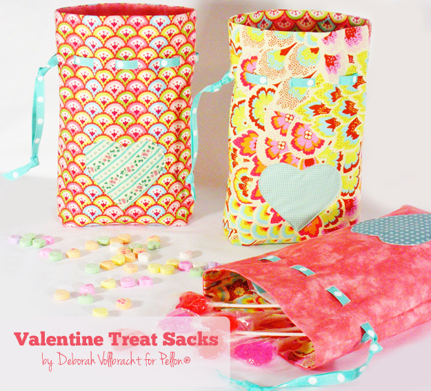valentine treat sack