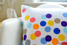 Confetti Pillow - Modern Handcraft
