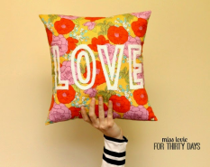 Floral Love Pillow - Miss Lovie