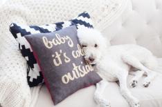 Holiday Envelope Pillow - SewBon
