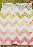 Chevron Quilt by Scattered Thoughts of a Crafty Mom