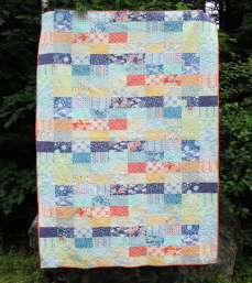 Ebb and Flow quilt by Karin Jordan for Pellon Projects