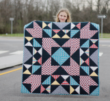Blast Quilt by Rachael Gander for Pellon Projects