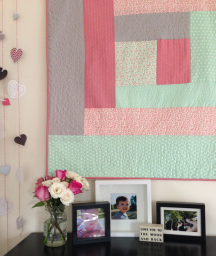 Quilt As You Go Log Cabin by Jera Brandvig for Pellon Projects