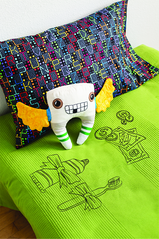 Toothy, the Tooth Fairy by Samarra Khaja, Sew Adorkable