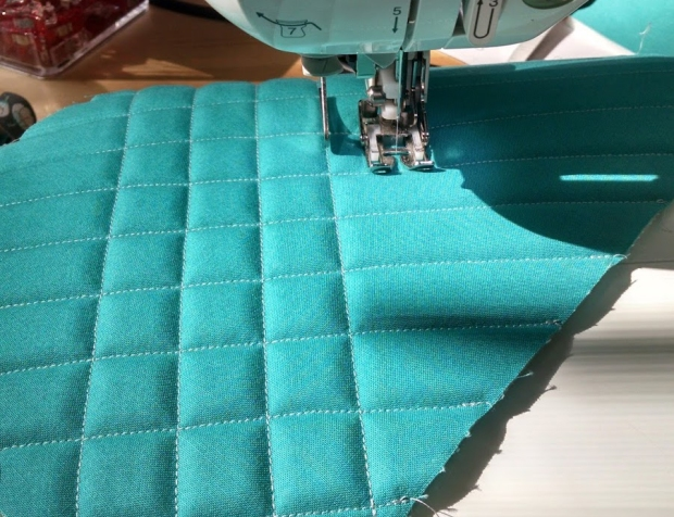 Quilted Flex-Foam by Bree Wernimont - Uses Flex-Foam 1-Sided Fusible