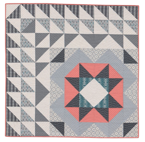 Focal Point from Machine Quilting with Style by Christa Watson (Martingale) -- Image by Brent Kane