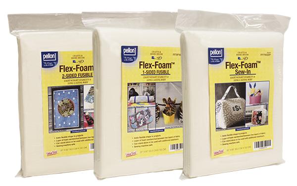 Pellon Flex-Foam 2-Sided Fusible Stabilizer-20 X60